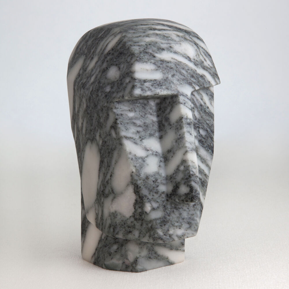 LITTLE MARBLE HEAD TRIP SCULPTURE