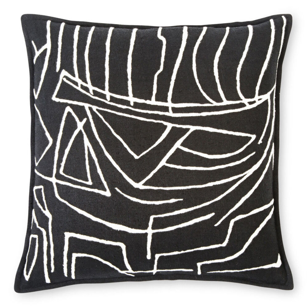 ZEPHYR SCRAFFITO PILLOW