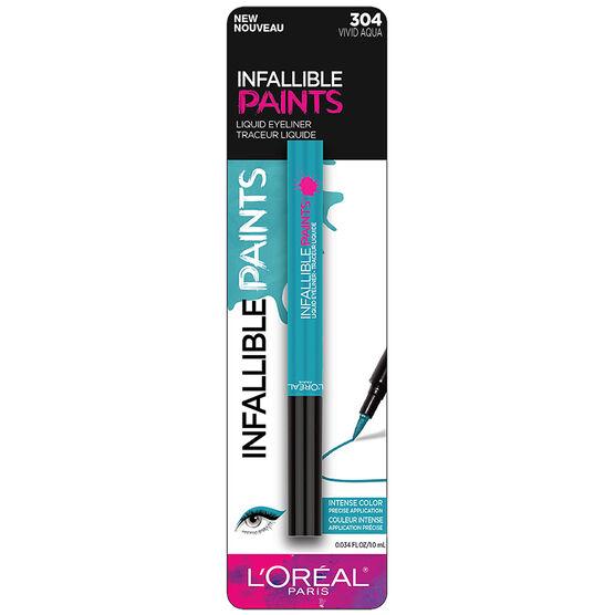 L'Oreal Infallible Paints Eyeliner - Vivid Aqua