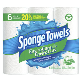 Spongetowels EnviroCare Choose-A-Size - 6's