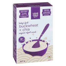 Love Child Infant Cereal - Buckwheat and Chia - 227g