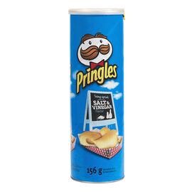 Pringles Potato Chips - Salt & Vinegar - 156g