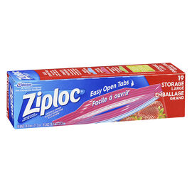 Ziploc Storage Bags - Large - 19's