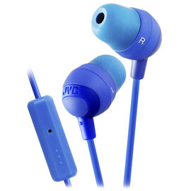 JVC Marshmallow In-Ear Headphones with Remote and Mic - HAFR37