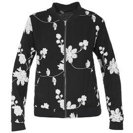 Lava Long Sleeve Embroidered Bomber Jacket