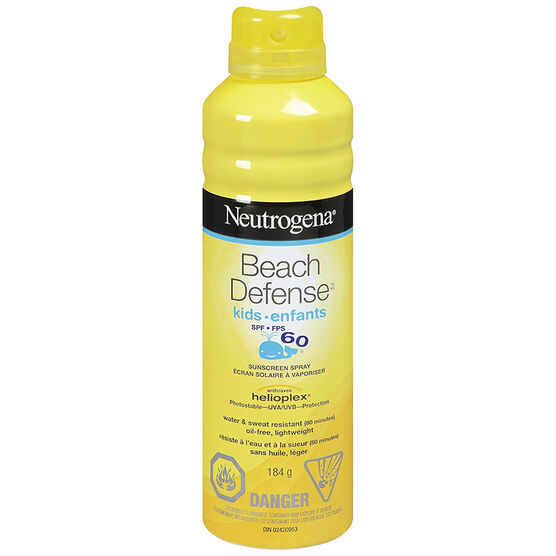 Neutrogena Beach Defense Kids Sunscreen Spray SPF60 - 184g