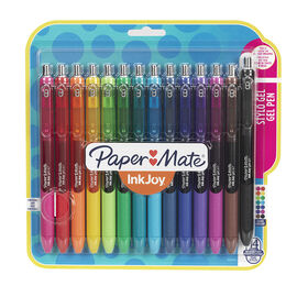 Papermate Ink Joy Gel Pens - Medium - Assorted - 14 pack