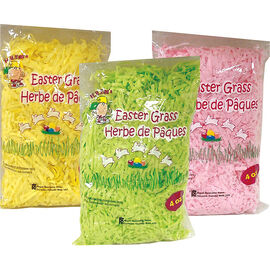 Easter Shredded Grass Tissue - 4oz - Assorted
