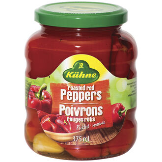 Kuhne Roasted Red Peppers - 375ml
