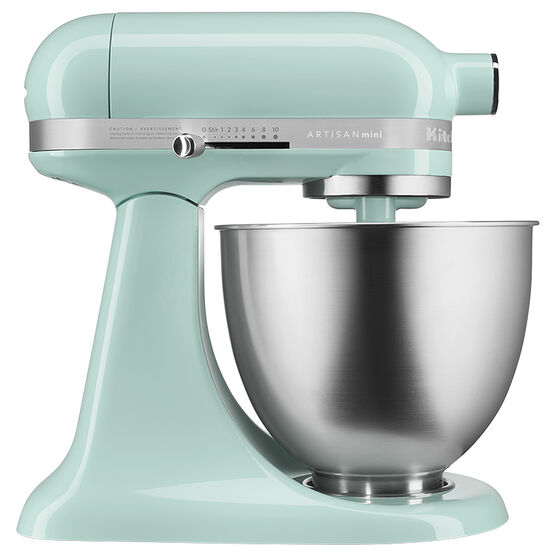 Mixer Kitchen: KitchenAid Artisan Mini Stand Mixer 3.5 Qt + Accessories