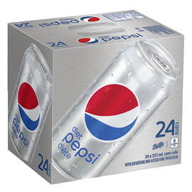 Pepsi - Diet - 24 x 355ml cans