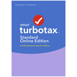 TurboTax Standard Online 2016 - 8 Returns - Bilingual