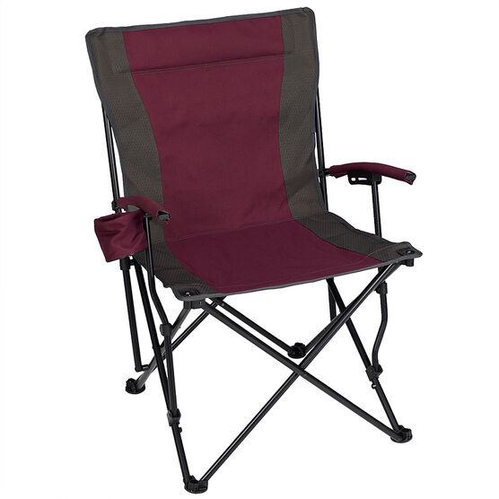 Folding Chair with Cup Holder - Assorted - 61.5 x 59 x 92cm