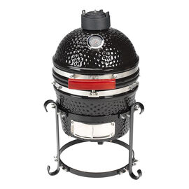 Ceramic Smoker and Grill with Stand - 10in -  SH0110
