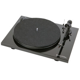 Pro-Ject Essential II Digital OM5E Piano with Pre-Amp/USB/Optical