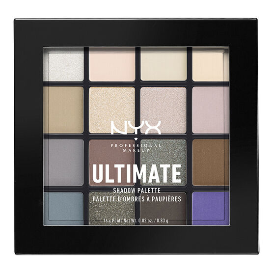 NYX Professional Ultimate Shadow Palette - Cool Neutrals