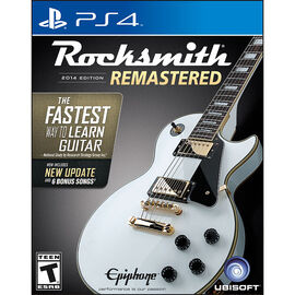 PS4 Rocksmith 2014 Edition Remastered