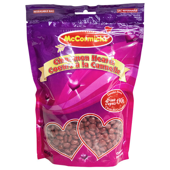 McCormicks Cinnamon Hearts - 400g