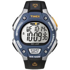 Timex Ironman Full Size Watch - Blue/Black - 5E931