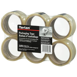 Clear Packaging Tape - 6 pack