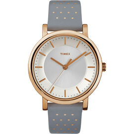 Timex Main St. Collection Watch - Grey/Gold - TW2R27400ZA