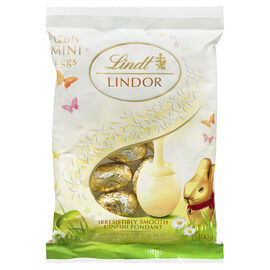 Lindt Lindor Mini Eggs - White Chocolate - 100g