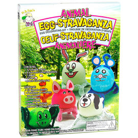 Easter Animal Egg Decorating Kit