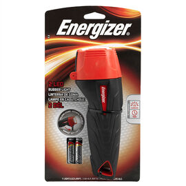 Energizer 2AA LED Rubber Flashlight - ENRUB21E