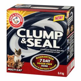 Arm & Hammer Clump & Seal Multi-Cat Litter - 6.4kg