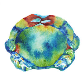 London Drugs Melamine Plate - Crab - 9.4in