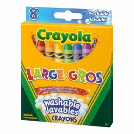 Crayola Large Washable Crayons - 8pack