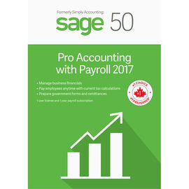 Sage 50 Pro with Payroll Accounting 2017