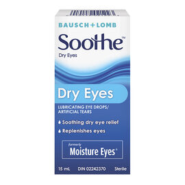 Bausch & Lomb Soothe Dry Eyes Eye Drops  - 15ml