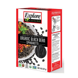 Explore Cuisine Organic Black Bean Spaghetti - 200g