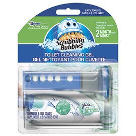 Scrubbing Bubbles Toilet Cleaning Gel - Rainshower - 6 discs