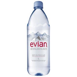Evian Natural Springs Water - 1L