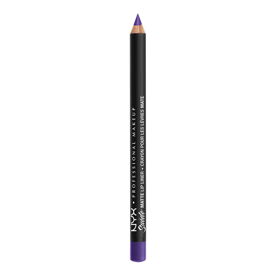NYX Professional Suede Matte Lip Liner - Amethyst