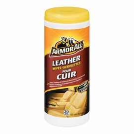Armor All Leather Wipes - 20's