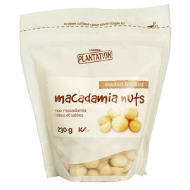 London Plantation Macadamia Nuts - Roasted and Salted - 230g