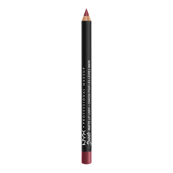 NYX Professional Makeup Suede Matte Lip Liner - Cherry Skies
