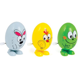 Easter Wind Up Character Eggs - Assorted