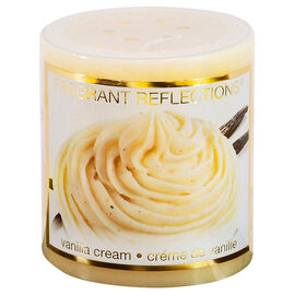 Fragrant Reflections Candle - Vanilla Cream - 3in