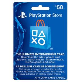 Playstation Network Card - $50