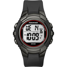 Timex Marathon Watch - Black/Silver - T5K64270