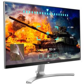 LG 27-inch Ultra HD IPS 4K Monitor - White - 27UD68P-W.AUS