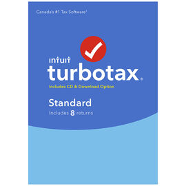 TurboTax Standard 2016 - 8 Returns - Bilingual