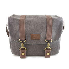Roots73 RG20 Flannel Messenger Bag - Grey - RG20