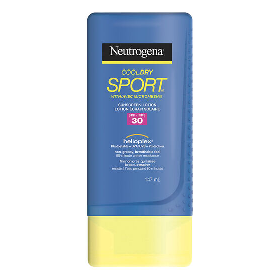 Neutrogena CoolDry Sport Sunscreen Lotion - SPF30 - 147ml
