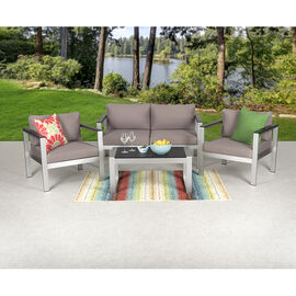 Orosei Patio Set - 4 piece