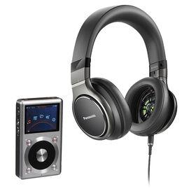 FiiO X3II Audio Player + Panasonic Hi-Res Headphones - PKG #34772
